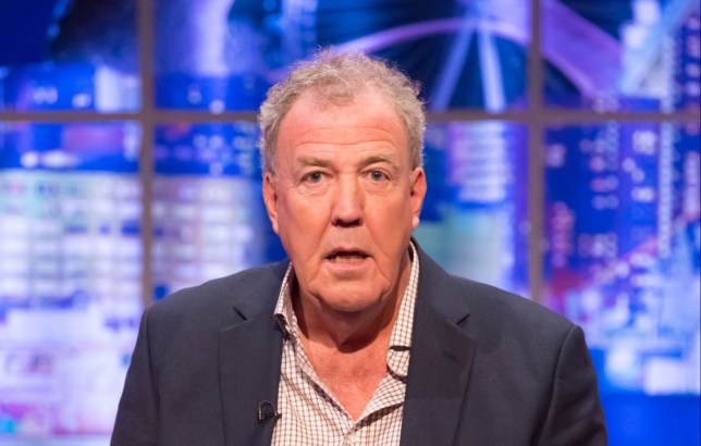 Mandatory Credit: Brian J Ritchie/Hotsauce Editorial Use Only. No Merchandising Mandatory Credit: Photo by Brian J Ritchie/Hotsauce/REX (10492115ab) Jeremy Clarkson 'The Jonathan Ross Show', TV show, Series 15, Episode 13, London, UK - 07 Dec 2019