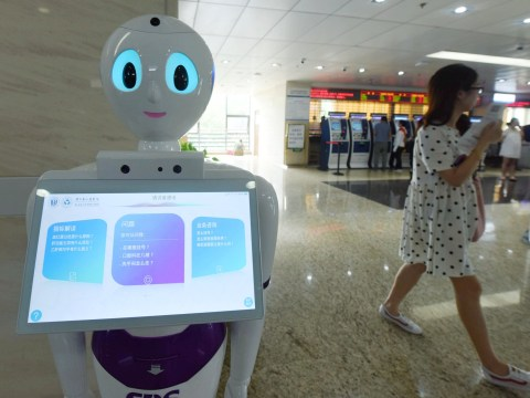 A robot hospital has opened in China to treat coronavirus patients