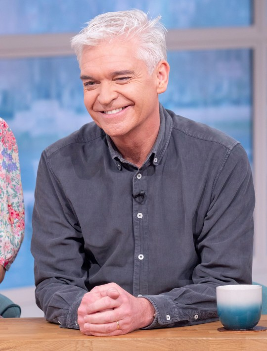 Editorial use only Mandatory Credit: Photo by Ken McKay/ITV/REX (10574775ca) Phillip Schofield 'This Morning' TV show, London, UK - 05 Mar 2020