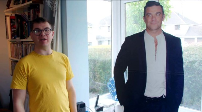 METROGRAB The Undateables viewers fall in love with Robbie Williams superfan Sam Channel 4