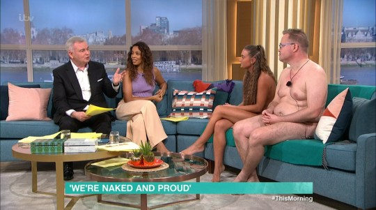 Rochelle Humes Eamonn Holmes This Morning