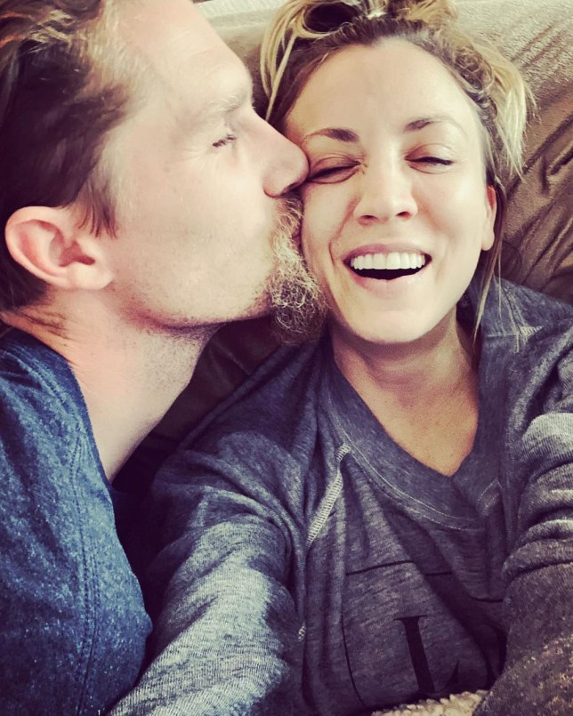 Kaley Cuoco moves into home with husband after living apart for two years