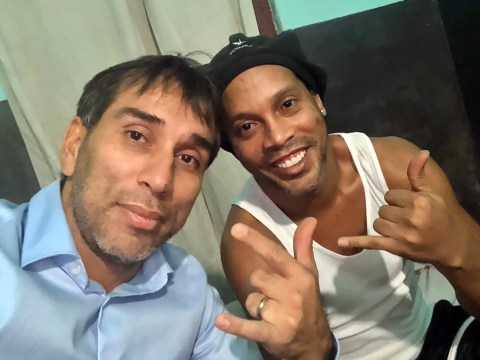 Ronaldinho 'sad' in prison as visitor reveals details of the Barcelona legend in jail