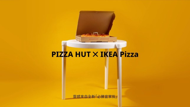 Pizza Hut & IKEA team-up for meatball pizza & a new Sava table