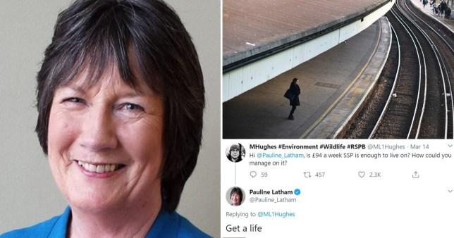 pauline latham tweet pics: Getty/Conservative Party