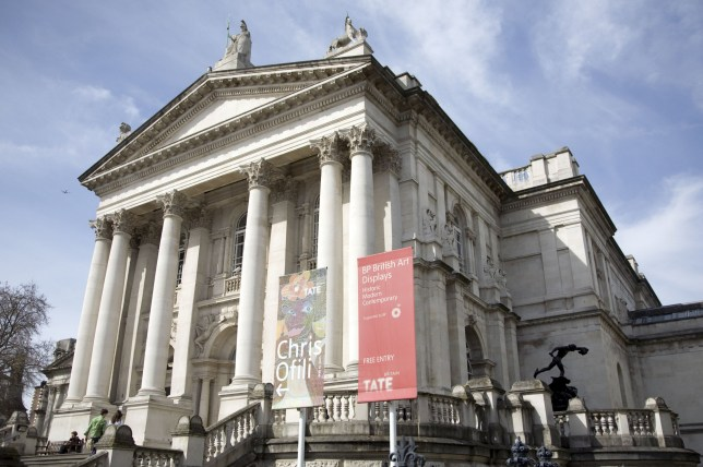 Mandatory Credit: Photo by Jeff Blackler/REX (1166998d) Tate Britain art gallery, London, England, Britain Various