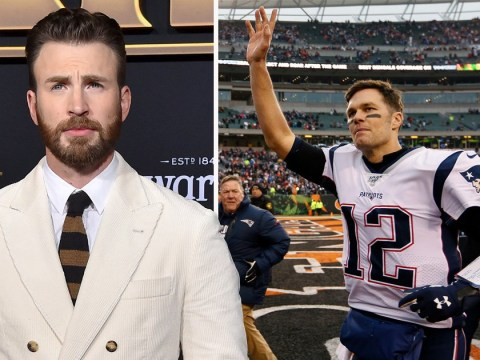 Avengers' Chris Evans reacts to Tom Brady's Patriots exit and calls him the 'greatest quarterback of all time'