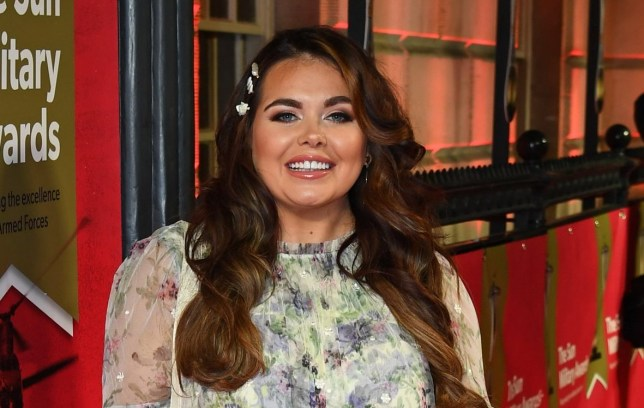 LONDON, ENGLAND - FEBRUARY 06: Scarlett Moffatt attends The Sun Military Awards 2020 at Banqueting House on February 06, 2020 in London, England. (Photo by Gareth Cattermole/Getty Images)