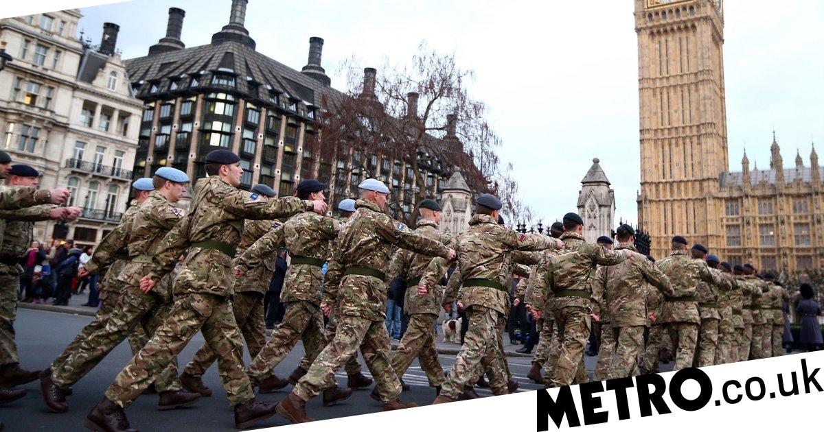 The Army ready 20,000 troops to help Britain's 'Coronavirus Support Force'