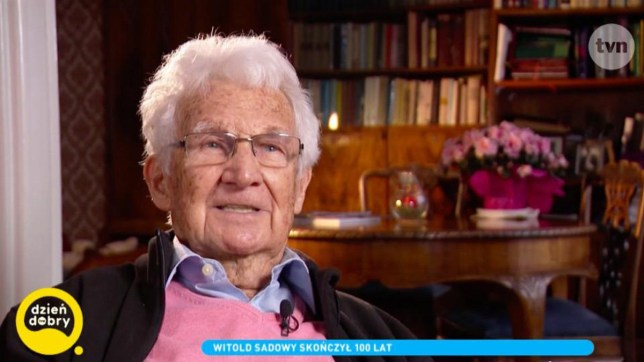 Polish actor comes out as gay aged 100 Picture: TVN