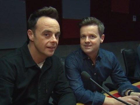 Ant and Dec forced to leg it from Loose Women star as she goes in for selfie amid coronavirus crisis: 'Everyone froze'