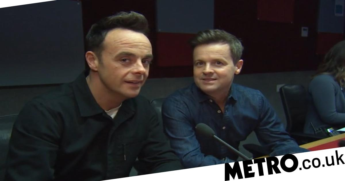 Ant and Dec forced to leg it from Loose Women star amid coronavirus crisis