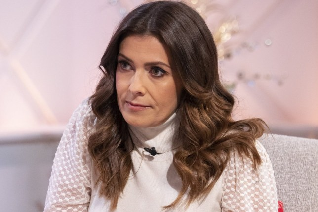 Editorial use only Mandatory Credit: Photo by Ken McKay/ITV/REX (10490488s) Kym Marsh 'Lorraine' TV show, London, UK - 03 Dec 2019 KYM MARSH: SAYING GOODBYE TO CORRIE Ahead of Michelle?s dramatic wedding tomorrow night - we?re joined Corrie star Kym Marsh as she reveals why this could be her last appearance on the street. She?ll also tell Lorraine about her upcoming Christmas role opposite Shaun Williamson, why she doesn?t like being called grandma, and how she?s joining forces with Martin Kemp and Bros? Luke Goss.