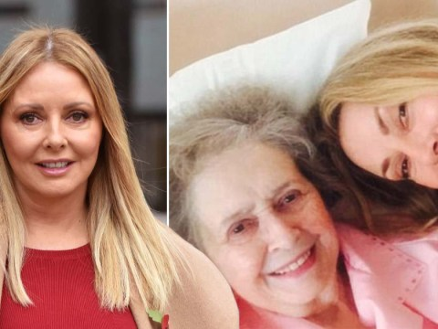 Carol Vorderman tears up as she remembers late mum Jean during radio show on Mother's Day