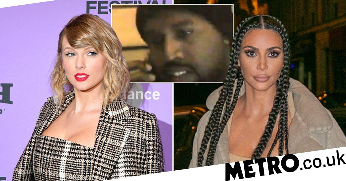 Kim Kardashian Likes Tweet About Leaked Kanye And Taylor Video Metro News