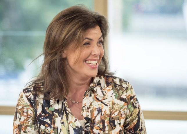 Kirstie Allsopp on 'This Morning' TV show, London, UK