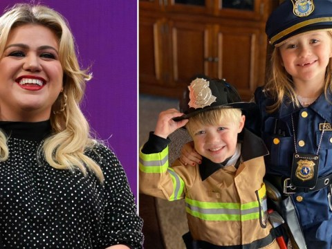 Kelly Clarkson forced to use toddler's potty when plumbing froze in social-distancing cabin