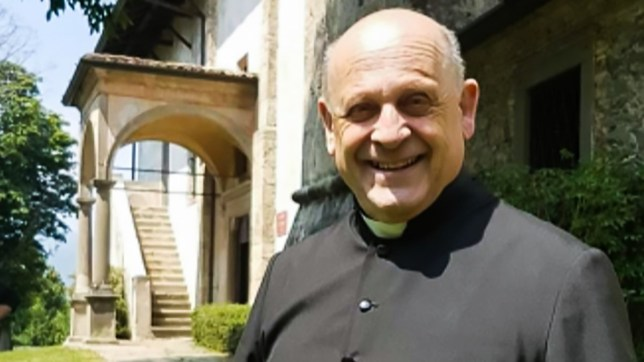 Picture: Metro Grab Italian priest, 72, dies from coronavirus after giving up his respirator to a younger patient