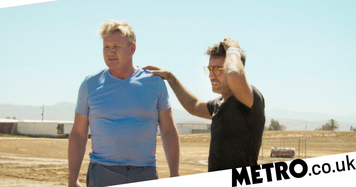 Gordon Ramsay and Gino D'Acampo took drugs before doing goat yoga on ITV show