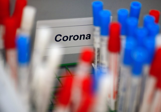 Components for a coronavirus testing kits have been contaminated with Covid-19