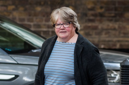 Secretary of State for Work and Pensions Therese Coffey arrives for the Cabinet meeting at 10 Downing Street on 16 October, 2019 in London, England. Boris Johnson was due to update ministers on the progress of negotiations with the EU to secure a Brexit deal ahead of the October 17-18 European Council summit. (Photo by WIktor Szymanowicz/NurPhoto via Getty Images)