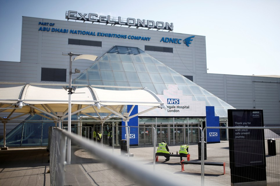 The ExCel centre in London usually hosts sporting events and conferences