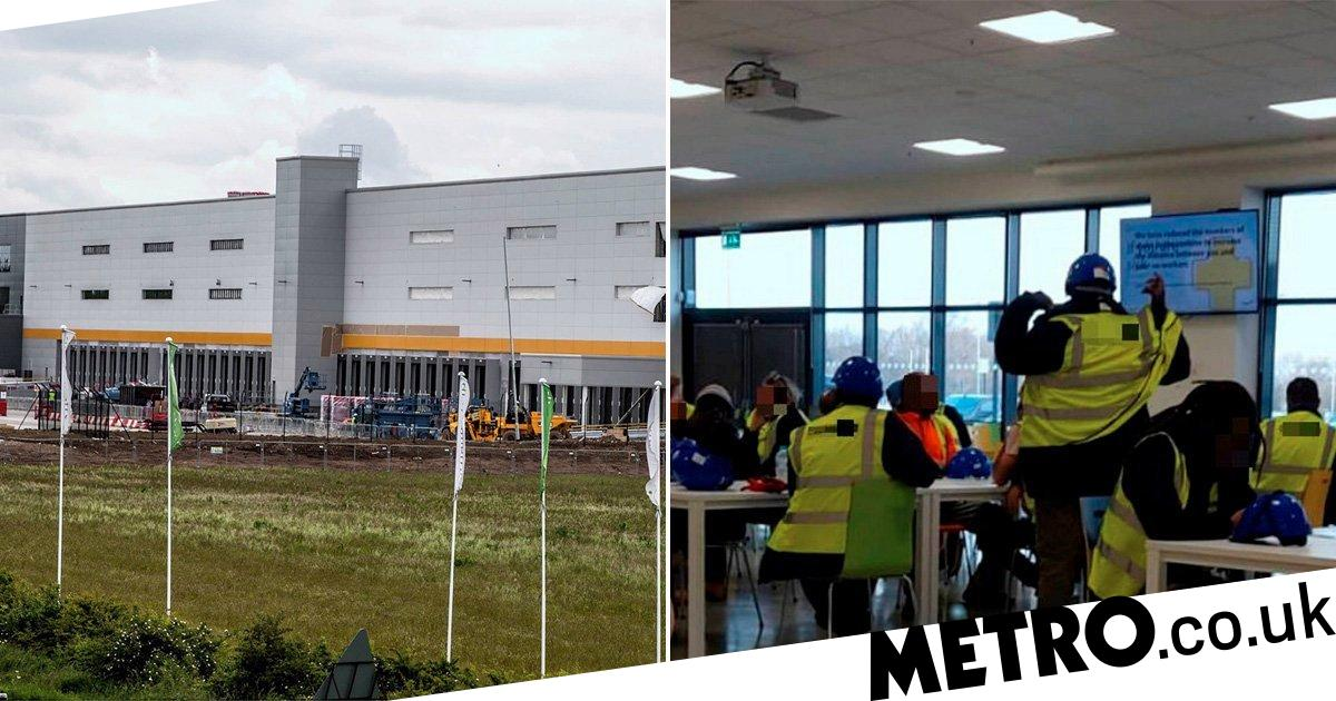 Five Amazon workers fall ill after complaints over lack of social distancing - metro