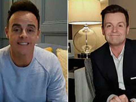 Ant and Dec tell fans it's 'very weird' to be presenting Saturday Night Takeaway from their houses as studio is axed due to coronavirus