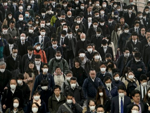 Japan could be next coronavirus hotspot as commuters pack onto trains