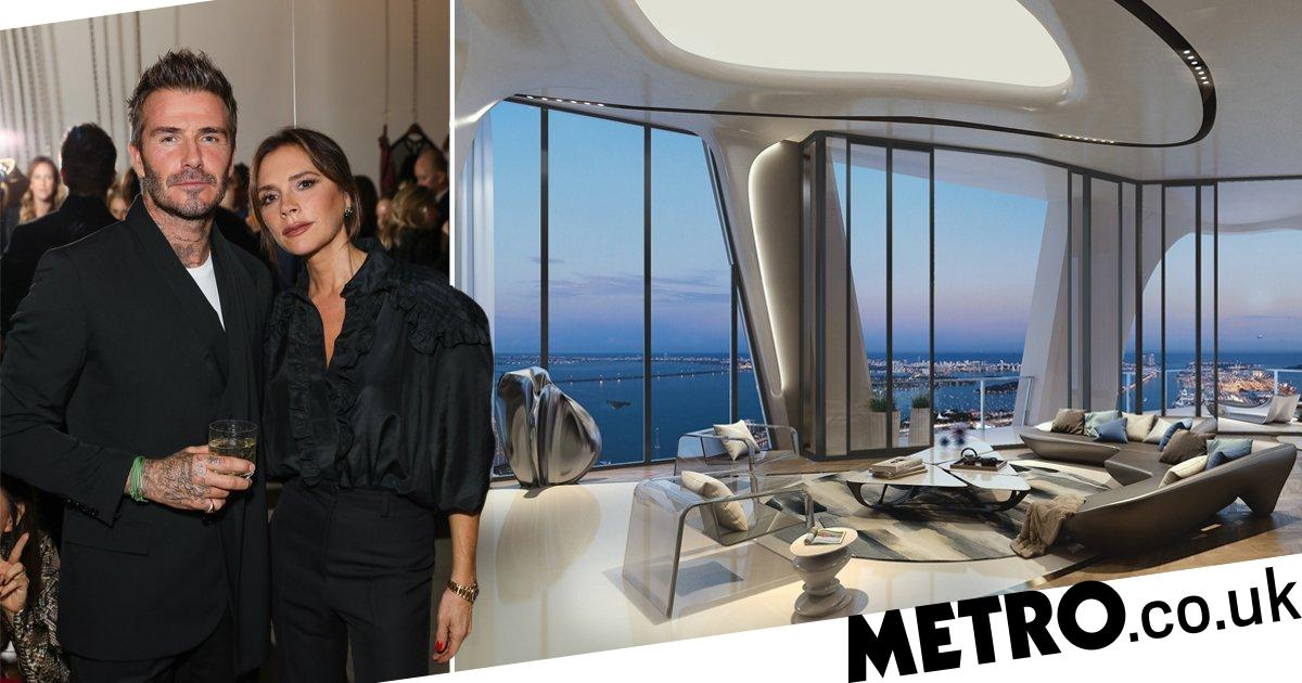 Inside David and Victoria Beckham's $24 million potential new Miami apartment