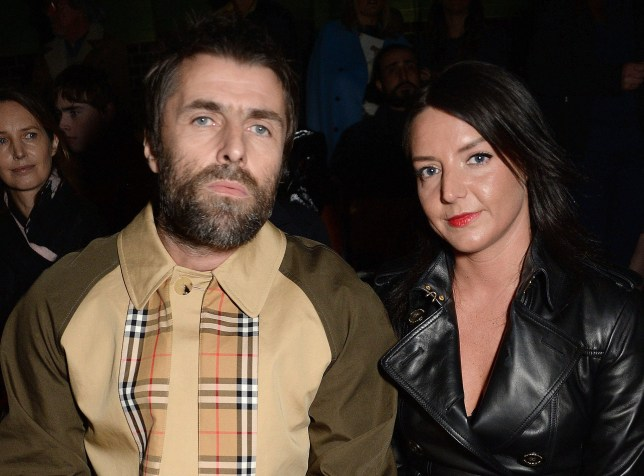 Mandatory Credit: Photo by Richard Young/REX (9420505ev) Liam Gallagher and Debbie Gwyther Burberry Show, Front Row, London Fashion Week, UK - 17 Feb 2018