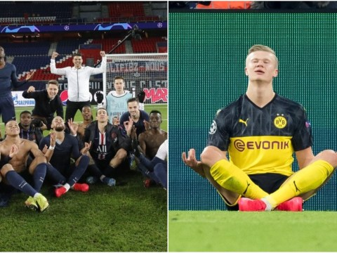 Erling Haaland's father blasts PSG's players for mocking his son