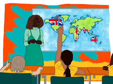 Children must learn about the British Empire at school to 'combat racism and white privilege'