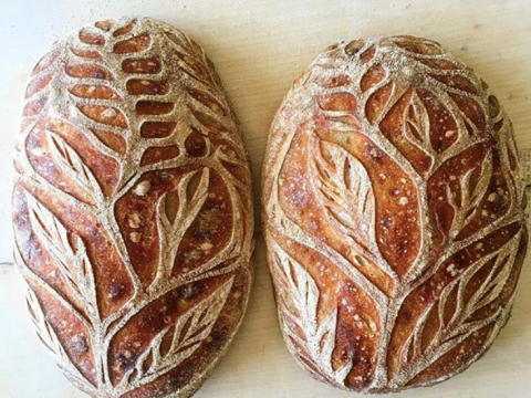 Let this intricate bread art soothe you