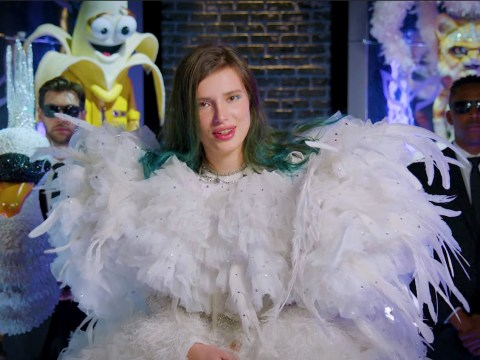 The Masked Singer Bella Thorne had to wee in her swan costume to make sure identity stayed hidden