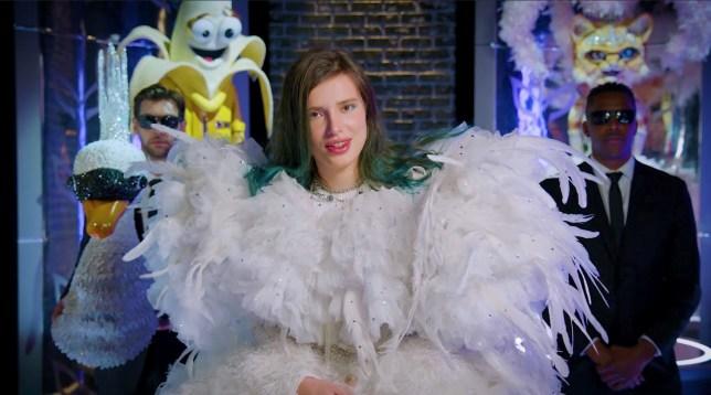 Bella Thorne Masked Singer