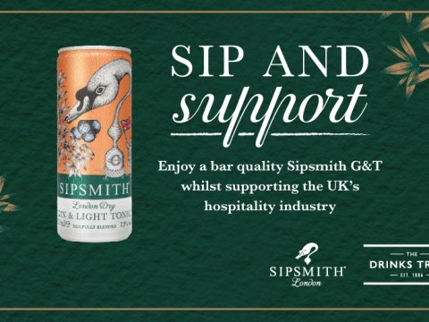 Sipsmith delivers 12 free cans of gin and tonic to your door if you donate £20 to the fund for out-of-work bartenders