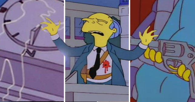 Who Shot Mr Burns in The Simpsons