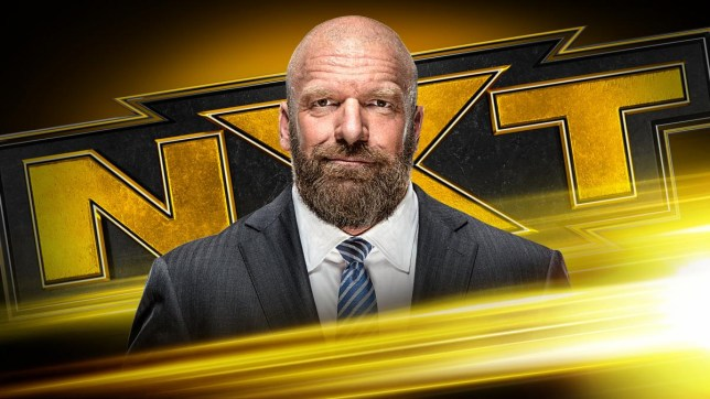 WWE superstar and NXT boss Triple H
