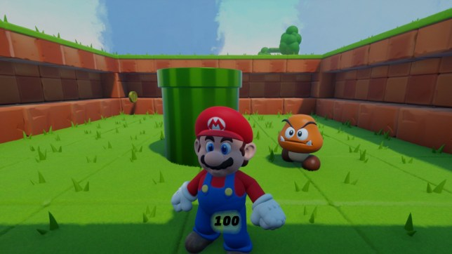 Super Mario in Dreams