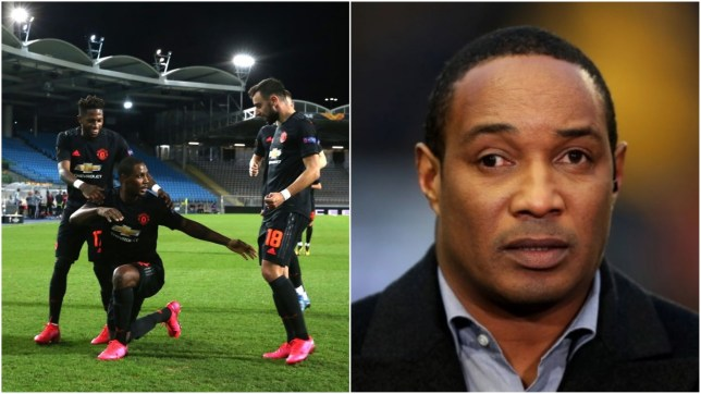 Paul Ince made a bizarre claim about Odion Ighalo's goal for Manchester United