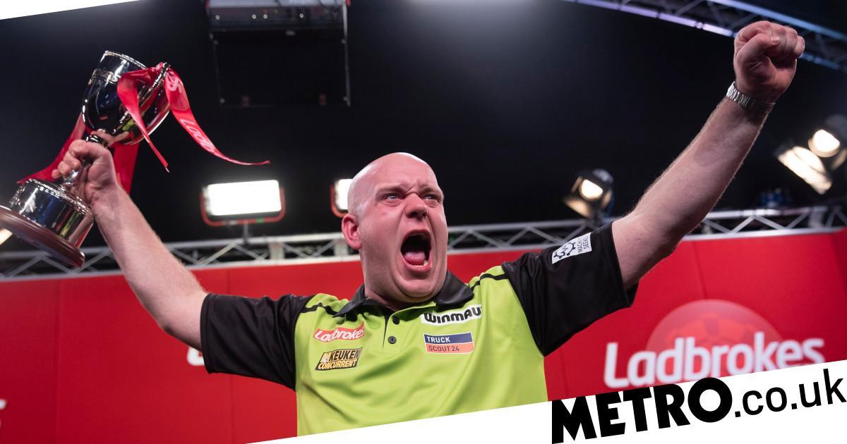Michael van Gerwen blasts critics after UK Open win: 'People don't have a clue'
