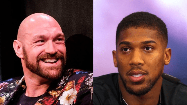Tyson Fury has been tipped to fight Anthony Joshua before the end of 2020