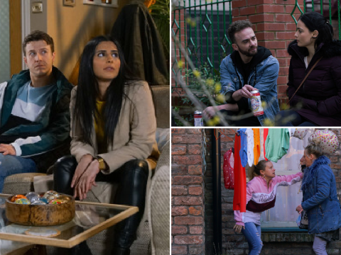 Coronation Street spoilers: 20 new images reveal Alya's plan, shock romance and baby horror