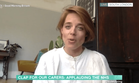 Woman behind campaign reveals moving story behind clapping for NHS