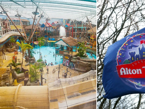 Alton Towers closes waterpark after almost 40 visitors suffer eye and throat 'irritation'