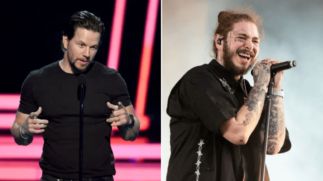 Mark Wahlberg and Post Malone