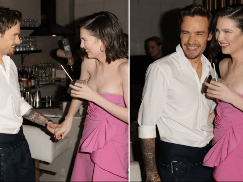 Liam Payne and Maya Henry look loved-up as they brush off split rumours on date night