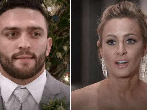 Love Is Blind's Jessica Batten toasted to being Mrs Cuevas moments before breaking Mark's heart on wedding day