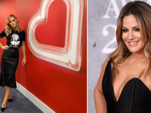 Amanda Holden pays tribute to Caroline Flack ahead of private funeral